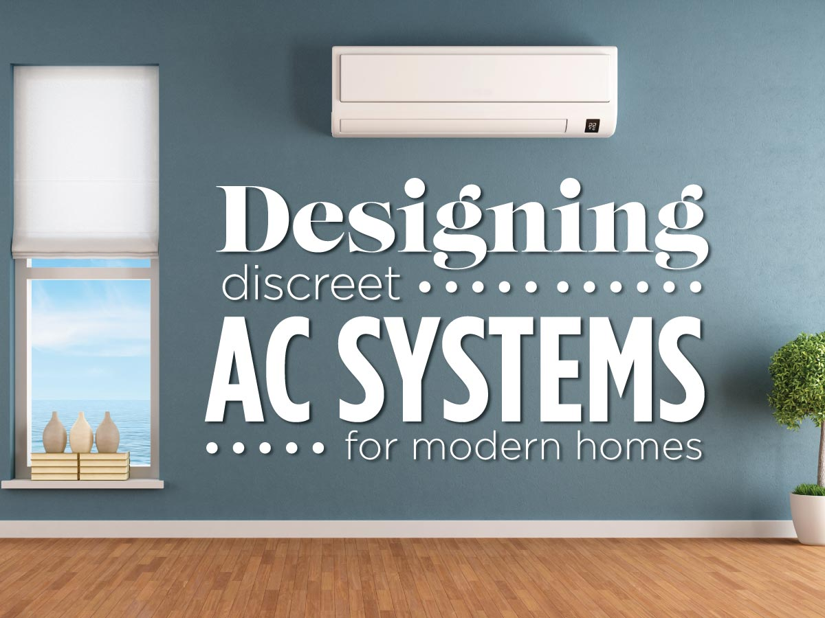 discreet air conditioning