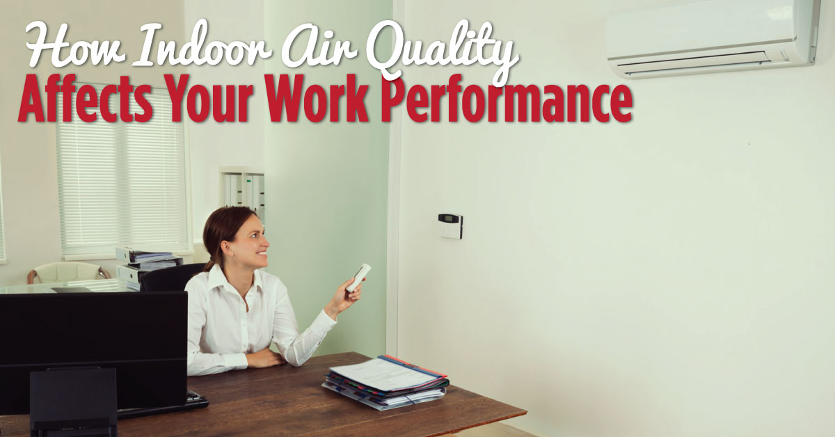 Indoor air quality and links to health, comfort, and performance.